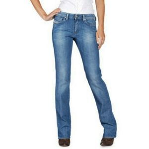 Diesel 30 Ronhy Jeans Distressed Straight Leg
